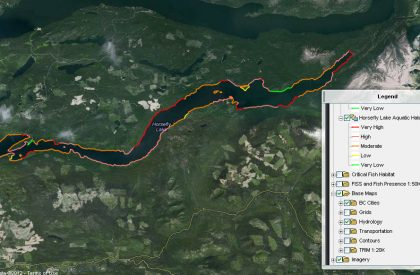Horsefly Lake Habitat Atlas
